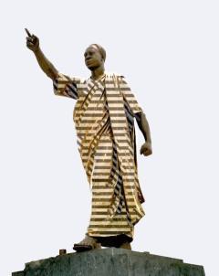 Unabhängigkeitspräsident Kwame Nkrumah
